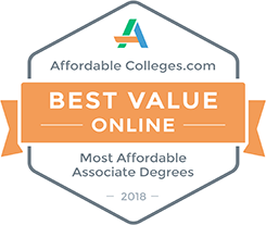 Most affordable online associate degree in Arkansas and #15 in the nation