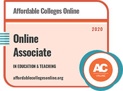 Affordable College Online 2020 Best Online Associate Degree Program in Education and Teaching - #1 in Arkansas #5 in the nation